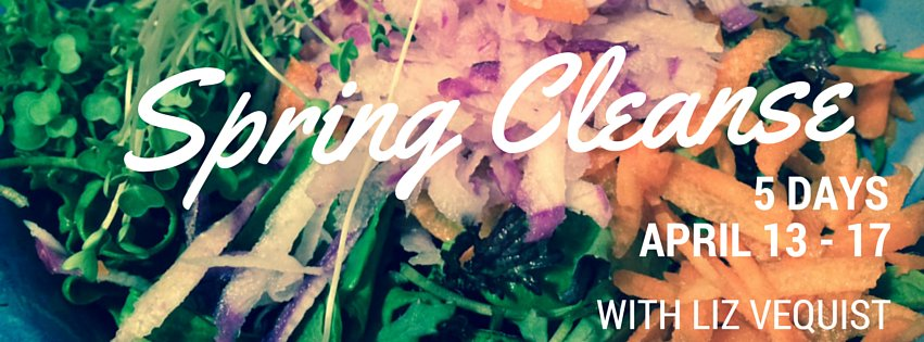 Spring Cleanse 2015