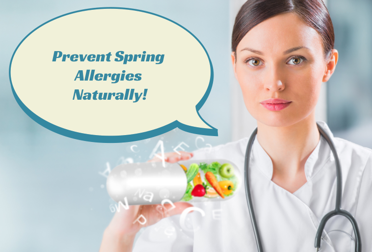 Prevent Spring Allergies Naturally